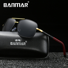 BANMAR Brand Polarized Sunglasses Men New Fashion Eyes Protect Sun Glasses With Accessories Unisex driving goggles oculos de sol стоимость