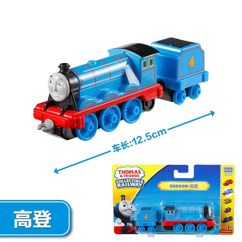 Image 4 - תומאס וחברים רכבת עם תובלה גורדון מיני רכבות רכבת אביזרי קלאסי צעצועי מתכת חומר צעצועים לילדיםרכבים וצעצועים יצוקים   -