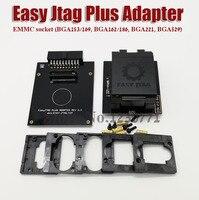 Original new EASY JTAG PLUS BOX EMMC Socket (BGA153/169, BGA162/186, BGA221, BGA529) Free shipping