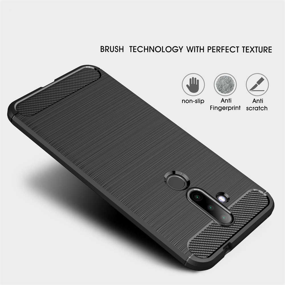Case do Nokia 3.1 5.1 6.1 Plus 2.1 7.1 8.1 3.2 4.2 6.2 6 7 8 9 Sirocco 1 2 3 5 Plus X5 X6 X7 X71 silikonu telefon skrzynki pokrywa