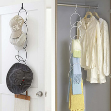 5 Hooks Hat clothes Hook Matel Wall Hanger Cap Bag Storage Rack Store Shop Display Door Hook