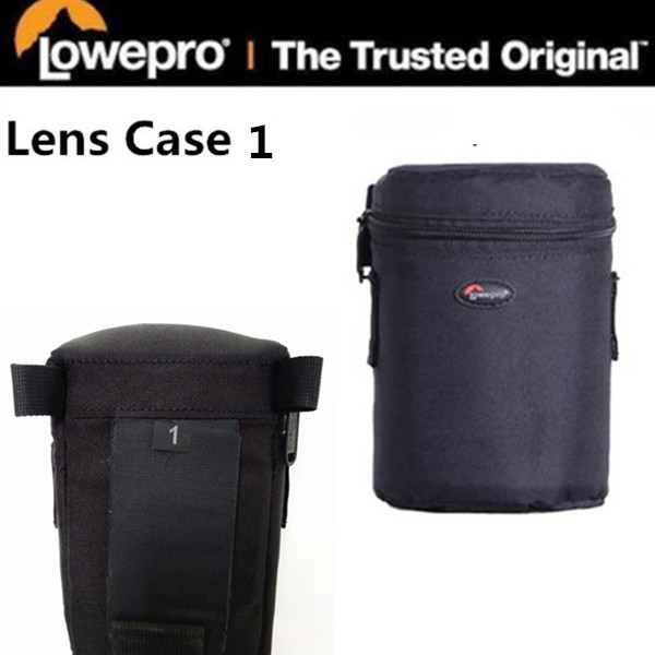 Lowepro LC1 Lens Case 1 for Nikon Canon Camera wide angle lens or short zoom Nikon Canon Camera ( 8.5 cm x 12.5 cm )