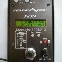 Коротковолновая радиосвязь радио HF+ UV рации радио рука Устанавливает Многополосная антенна анализатор AW07A 1,5-490 мГц