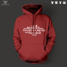 Veep Robust words design men unisex pullover hoodie hooded sweatershirt 82% cotton fleece inside quality free shipping