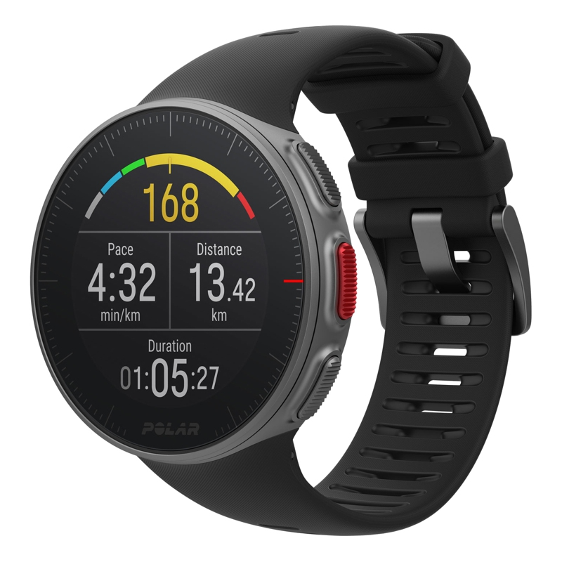 цена на Professional Watch for мультиспорта POLAR Vantage V BLK HR (sensor H10)