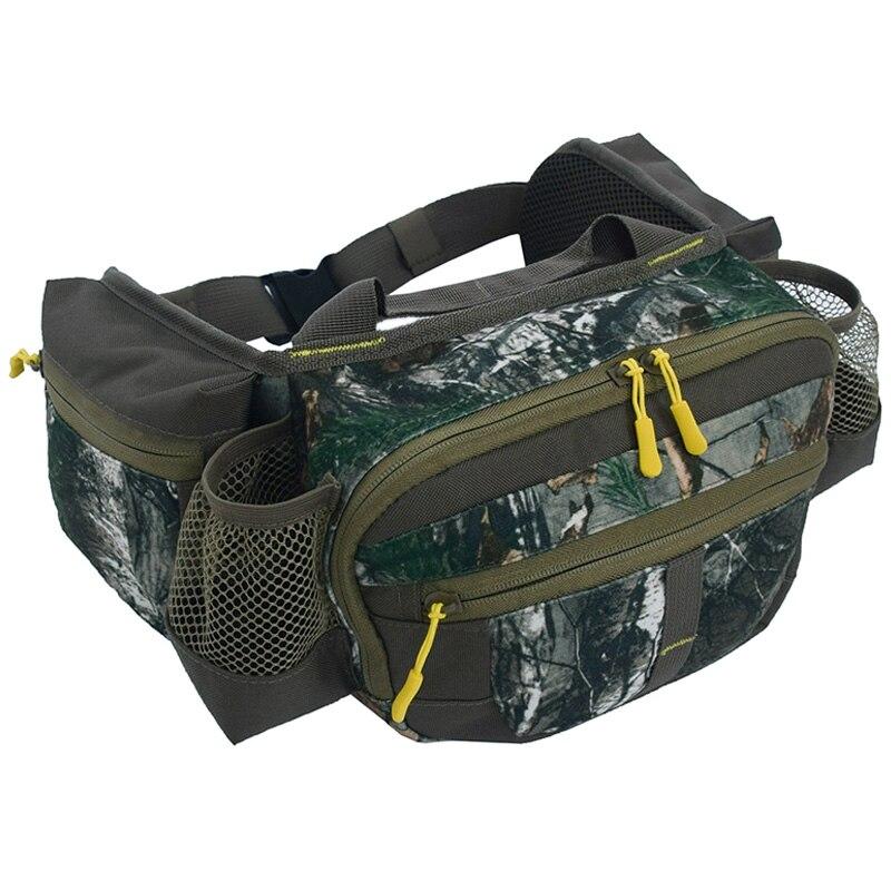 600D Oxford Cloth Waist Fanny Pack Sport Bag Hiking Fishing Hunting Camping Travel Hip Bum Belt