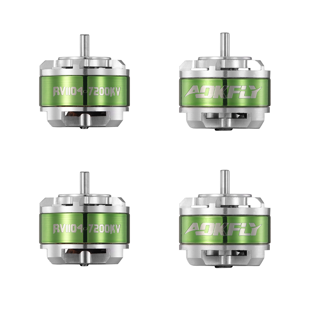 цена на 1104 Brushless Motor Aokfly RV4200KV/7200KV Mini Motors Drone Motor for QAV90 FPV Racing Drone Quadcopter Multirotors 4pcs
