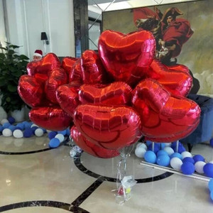 Image 3 - Wedding Ballon Supersize 75cm Red Heart Shape Foil Balloon Wedding Decoration Say Love Marriage Inflatable Party Ballon Supplies