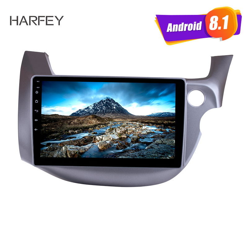 Harfey Head Unit Touch Screen for 2007 2013 HONDA FIT JAZZ RHD Android 8 1 10