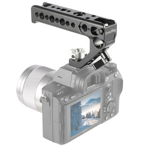 Image 4 - SmallRig Quick Release Camera Shoe Handle Grip Can Use W/ SmallRig Z6 L Plate w/ ARRI Locating Hole DIY Camera Stabilizer 2094