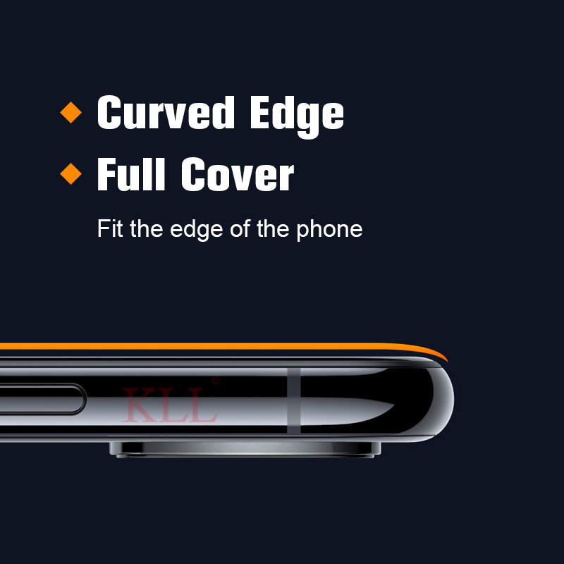 19D Curved Full Cover Tempered Glass for iPhone 7 8 6 6s Plus 9H Screen Protector Film for iPhone X XS Max XR Protective Glass in Phone Screen Protectors from Cellphones Telecommunications