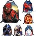 13 Pulgadas Superhéroe Spiderman Mochila Hombro Bolsa de Libros de la Escuela de Impresión de Dibujos Animados Para Niños Niños Mochila Infantil