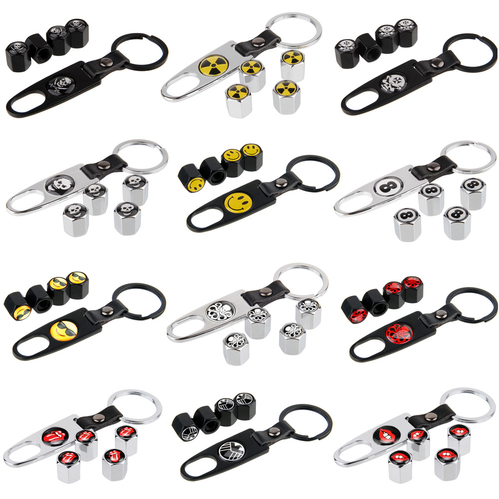 Speed Demons SUZUKI red Metal Valve Dust Caps for all Car models Universal fitting