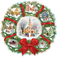 Full Square/Round Drill 5D DIY Diamond Painting Christmas houses 3D Embroidery Cross Stitch  Decor Gift diapai 100% full square round drill 5d diy diamond painting couple oil paintingdiamond embroidery cross stitch 3d decor a19636