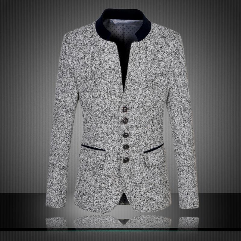 Men blazers suit 2017 dress suits wear print jacket clothing set tuxedos for men plus size