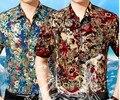 100% seda de mora 2016 europa y los estados unidos el nuevo camisas de hombre