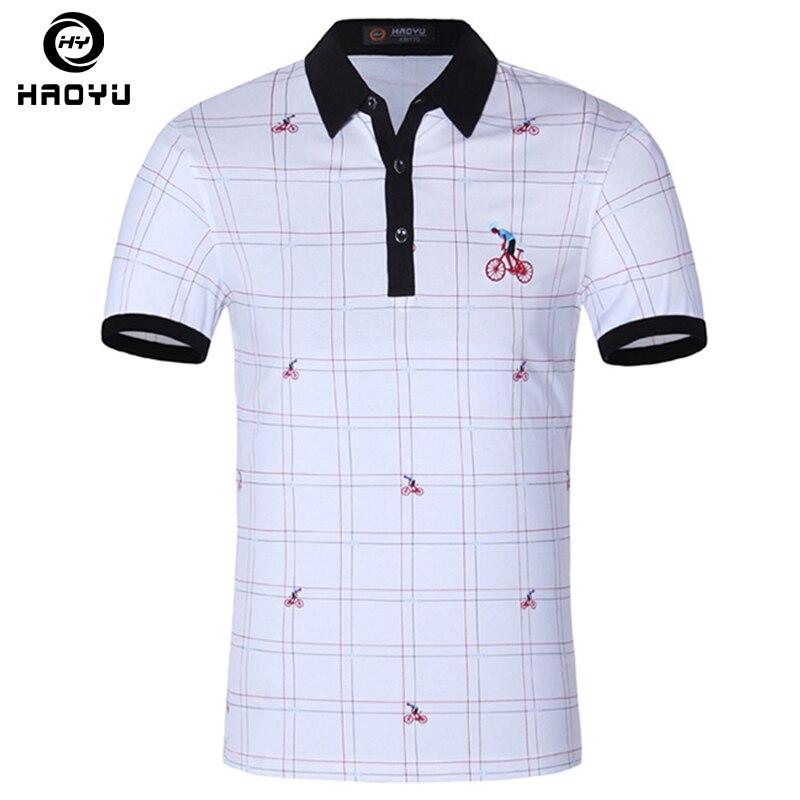 Heren poloshirt Beroemd merk Fashion Casual korte mouw Camisas - Herenkleding - Foto 1