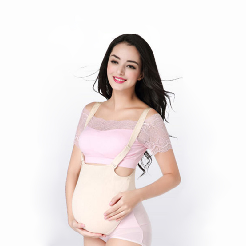 Artificial Silicone Pregnancy Belly Cross Dresser Pregnant Bump Cosplay Belly - as pictu ...