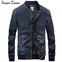 AFS JEEP The New Autumn And Winter 2016 Men S Jacket Thick Denim Jacket Men S