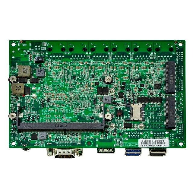 Qotom Мини ПК Q500G6-S05 с Celeron Core i3 i5 i7 AES-NI 6 гигабитная Сетевая интерфейсная карта роутер с файрволом поддержка Pfsense Linux Ubuntu безвентиляторный ПК 3
