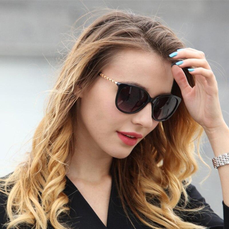 Deftig 2019 Cat Eye Vintage Merk Designer Gold Benen Zonnebril Voor Vrouwen Luxe Retro Zonnebril Vrouwelijke Dames Eyewears Spiegel Uv400