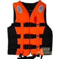 Child Professional Life Vest Life Jacket Fishing Swim Vest With Belt Whistle Child Size Size S