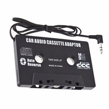 Auto Mp3 Speler Casette Aux Walkman Casette Mp3 Speler Tape Adapter Voor iPod Voor iPhone Android AUX Kabel CD 3.5mm Jack(China)