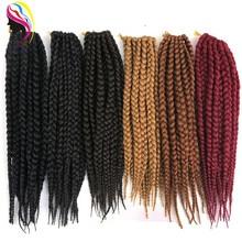 Crochet Box Hair Synthetic