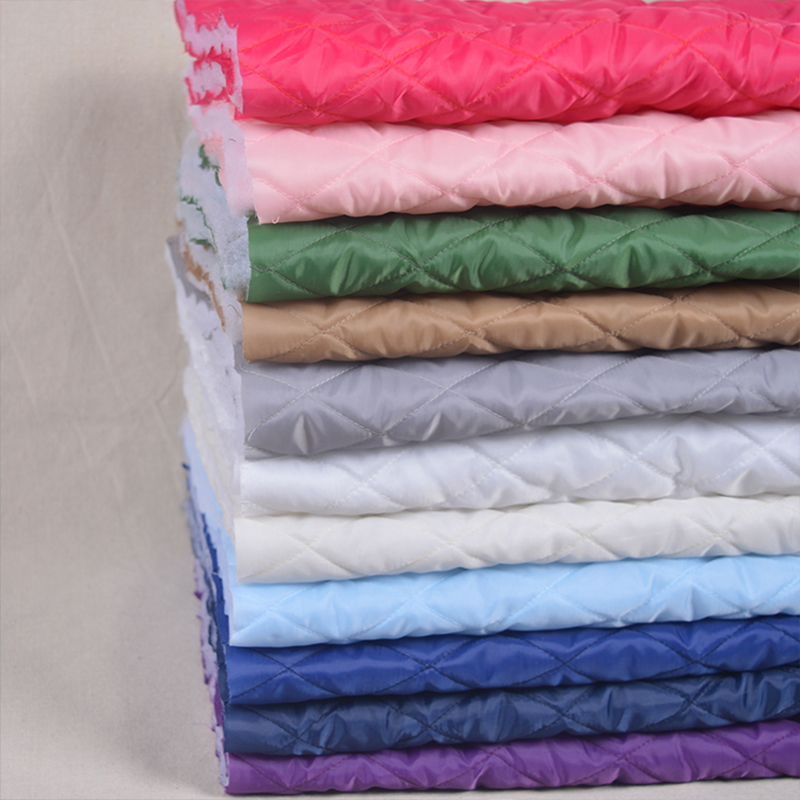 150*50cm Thickening Quilted Interlinings Cotton Fabric DIY Handmade For Winter Coat Lining Cotton-padded Jacket image