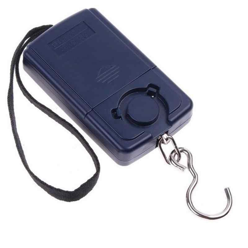 Balance numérique LCD noir Mini Balance électronique 0.01 kg-40 kg Balance suspendue Balance de poids pour bagages Steelyard