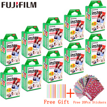 10   200 feuilles Fuji film Instax Mini Film blanc papier Photo instantané pour fuji Instax Mini 11 8 9 7s 9 70 25 50s 90 appareil Photo SP 1 2
