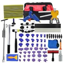 Tools Kit DIY Remove Dent Paintless tabs Repair Tool Car Dent Remover Reverse Hammer Straightening Pulling Dents Instruments