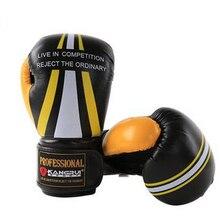 Newest Adult Kick Boxing Gloves Women Men Muay Thai Sanda Kungfu Martial Arts mma Fighting Sandbag