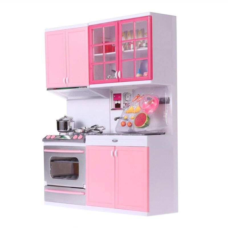 Utensílios de cozinha de plástico jogando casa jogos ferramentas cozinha conjunto para crianças meninas festa favores para crianças aniversário do chuveiro do bebê favores presente
