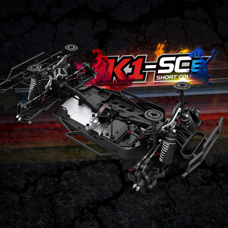 Free shipping KKPIT 1:10 Motor-driven Cross-country Short track Kit Frame K1 SCE Remote Control Model Vehicle RC hobby