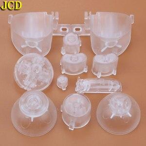 Image 5 - Jcd フルセット l r abxy z キーパッドのボタンと 3D サムスティックキャップキューブ用 ngc d パッド電源 on off ボタン