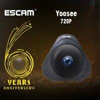 ESCAM Q8 HD 960P 1.3MP 360 Degree Panoramic Monitor Fisheye WIFI IR Infrared Camera VR Camera