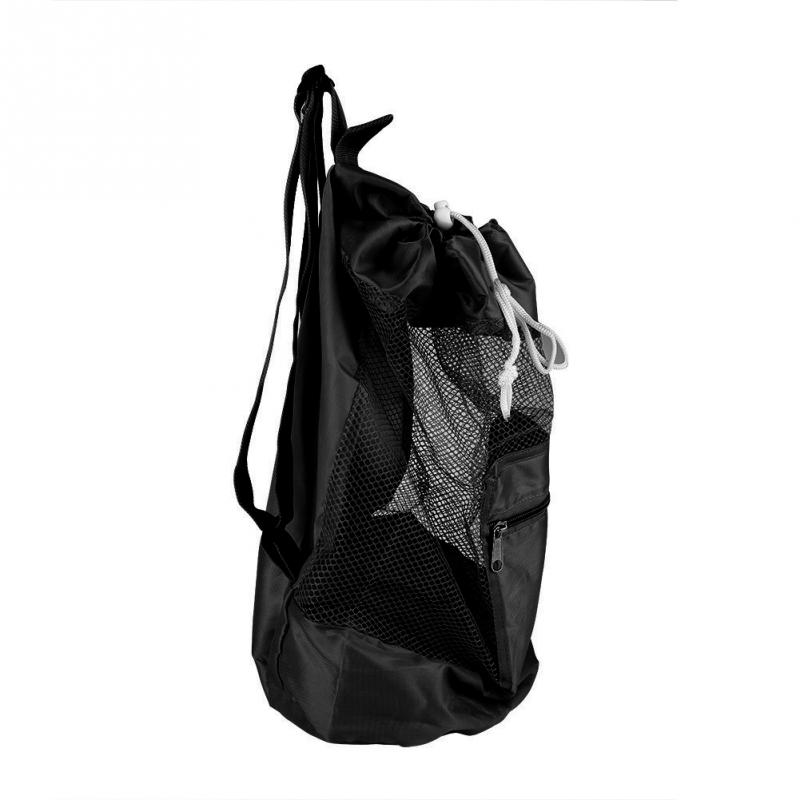 Home & Garden Aggressive Foldable Portable Beach Bag Kids Children Mesh Drawstring Backpack Storage Bag Beach Toy Baskets Storage Bag