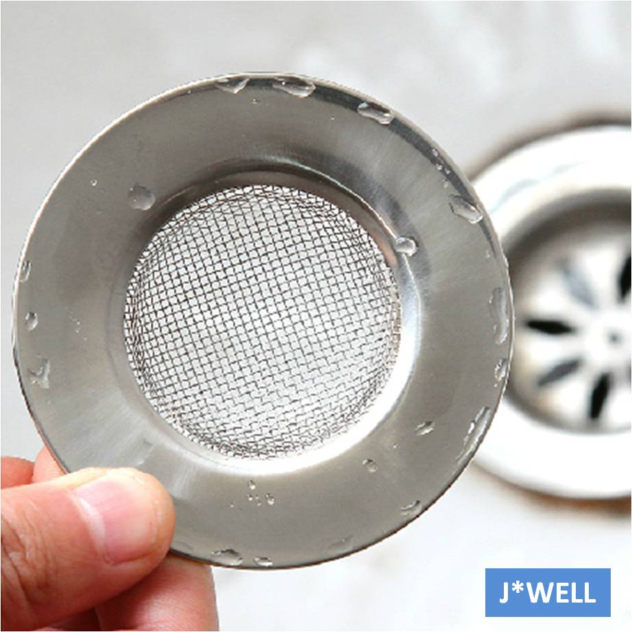 New Handle Mesh Stainless Steel Kitchen Bathroom Sink