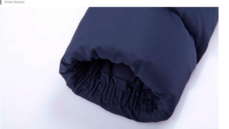 Vestes D'hiver De Manteaux Blue Femmes Mince Haute Capuchon Épaissir Canard À Conception Qualité Longue Duvet Dark Chaud pqCE46