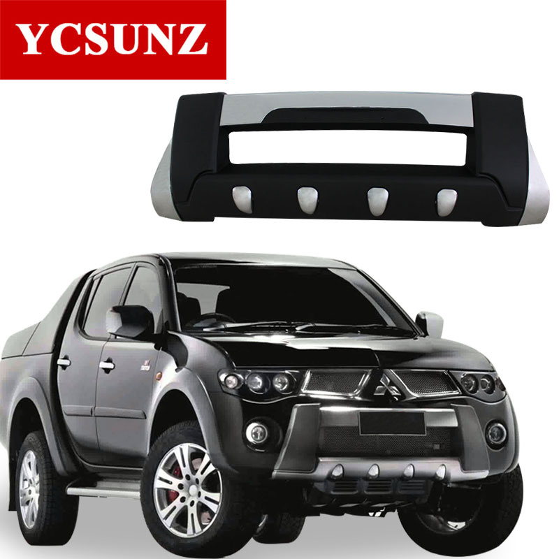 2008 For Mitsubishi L200 Triton Bumper ABS Front Over Bumper For Mitsubishi L200 2006 2007 2009 2010 2011 2012 2013 2014 Ycsunz