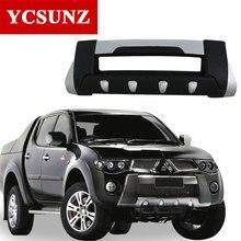 2008 For Mitsubishi L200 Triton Bumper ABS Front Over Bumper For Mitsubishi L200 2006 2007 2009 2010 2011 2012 2013 2014 Ycsunz