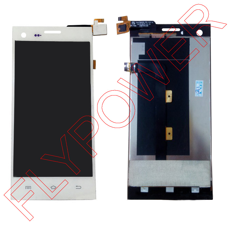 For THL T11 LCD Screen Display with Touch Screen Digitizer Assembly by free shipping; White color; HQ; 100% warranty