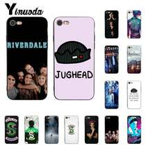Yinuoda Riverdale South Side Serpents TPU Soft Silicone Black Phone Case for iPhone 6S 6plus 7 7plus 8 8Plus X Xs MAX 5 5S XR(China)