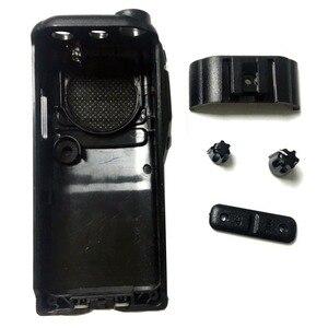 Image 2 - 2 PCS Radio Service Parts Caso Refurb para ICOM IC F26 Botão PTT Botão Shell walkie talkie yaesu rádio comunicador de Peças caso