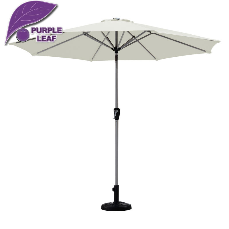 Purple leaf market patio umbrella balcony parasol garden outdoor sombrilla de - Parasol chauffant de table ...