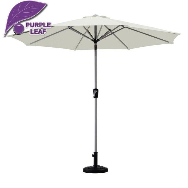 Purple Leaf Market Patio Umbrella Balcony Parasol Garden Outdoor Sombrilla  De Playa 9ft Table Cafe Beach