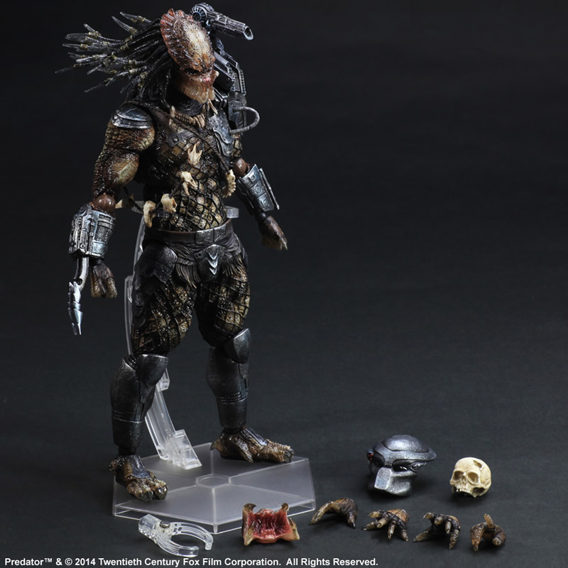 Play Arts Kai Alien vs Predator P1 America Movie RPG GAME Alien Movable Action Figure Toys