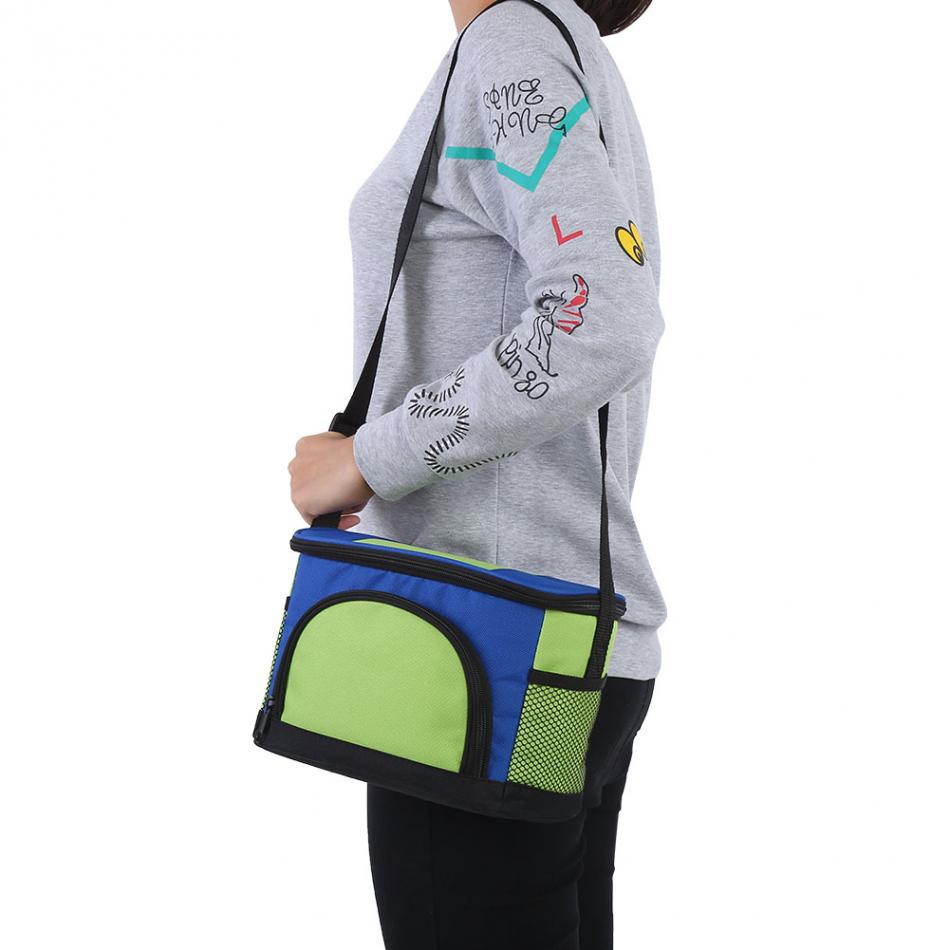 Multi Function Thermal Insulated Cooler Lunch Bag Food Box Handbag Outdoor Camping Picnic Bag Women Kids Lunch Box