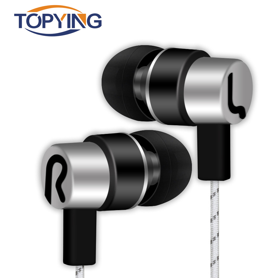 Wired Earphone New Universal 3.5mm In-Ear Sports Running Stereo Earbuds Earphone For Phones
